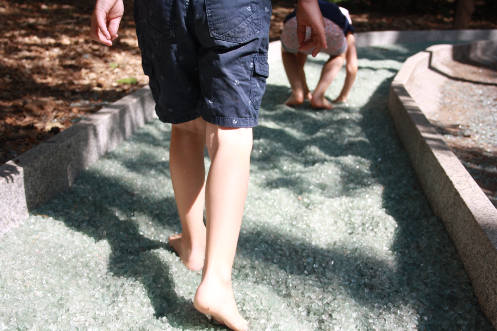 Natur an den Füßen spüren