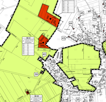 Bebauungsplan für die Gemeinde Lorup im Emsland