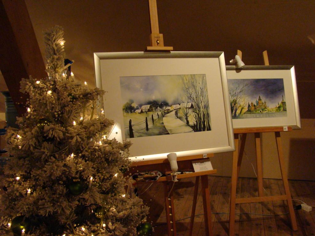 """"""" La Bohème """" - Advent-Ausstellung im Atelier INDIGO 27.-29.11.2009"""