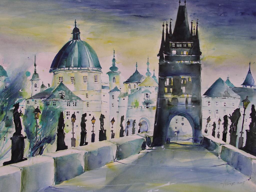 Die Karlsbrücke von Prag - Tschechien