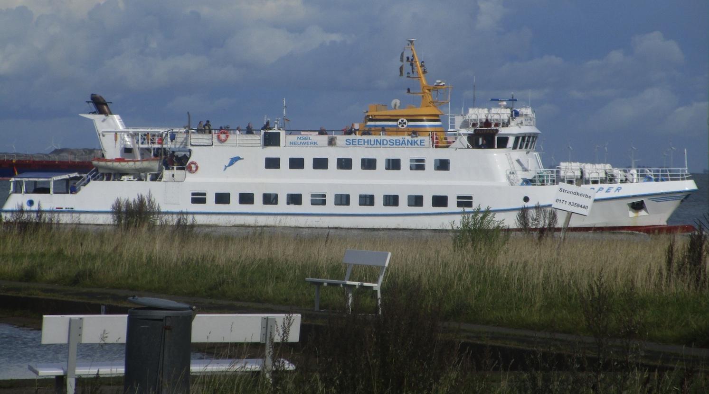 Touristen-Schiff zu den Seehundsbänken