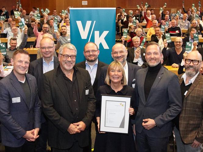 Bild: Christine Lüders mit VK-Vertretern