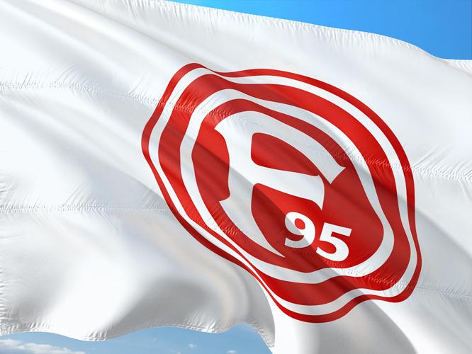 Bild: Fahne Fortuna 95
