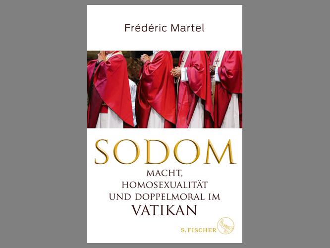 """Bild: Buchcover """"Sodom – Macht, Homosexualität und Doppelmoral im Vatikan"""""""