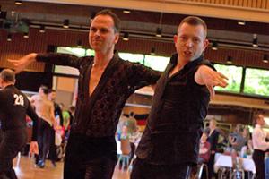 Bild: Tanzpaar beim Grand Prix Düsseldorf