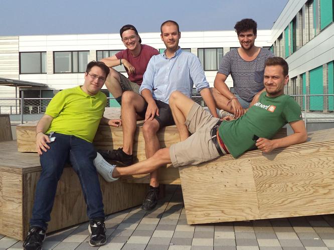 Bild: Referenten im autonomen Referat für schwule und bisexuelle Studierende Düsseldorf