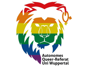 Logo: Queer-Referat Uni Wuppertal