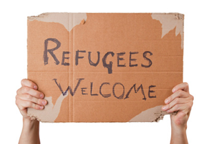 Bild: Refugees welcome