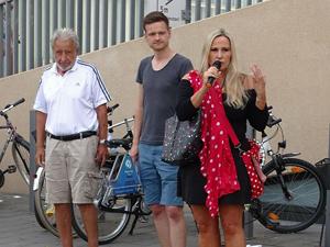 Bild: Hans Helten, Christian Naumann und Elisabeth Wilfart
