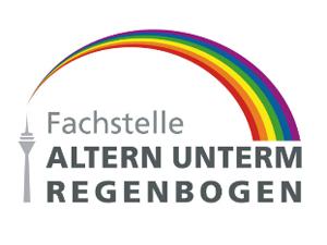 Logo: Fachstelle Altern unterm Regenbogen