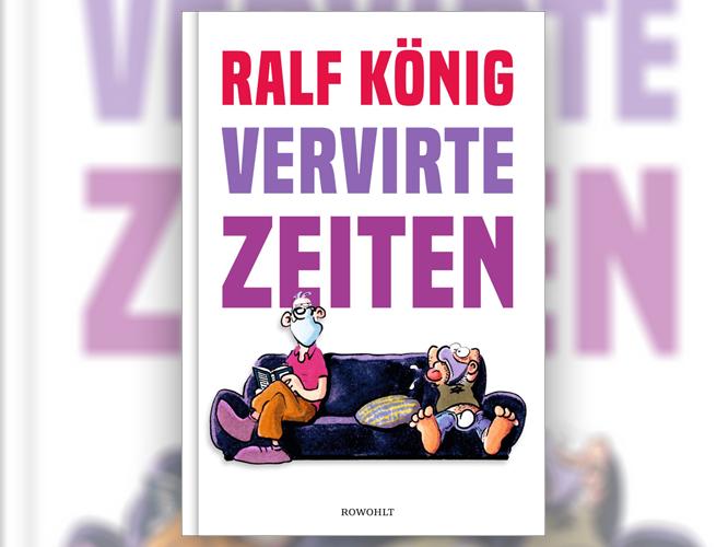 """Bild: Buchcover """"Vervirte Zeiten"""""""