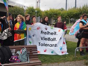 Bild: Freiheit. Vielfalt. Toleranz.