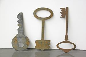 """Bild: Rita McBride """"Keys"""""""