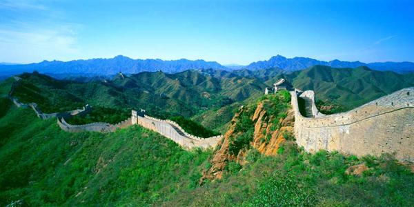 Bild: Große Mauer in China