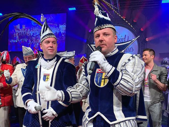 Bild: Prinz Axel und Prinz Niersius Thorsten
