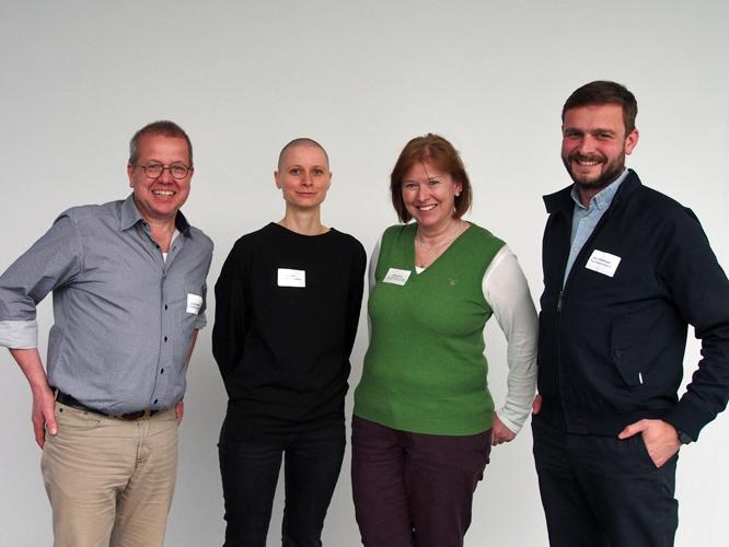 Bild: Jörg Thomas Alvermann, Katharina Monka, Gabriele Bischoff und Christoph Westermeier