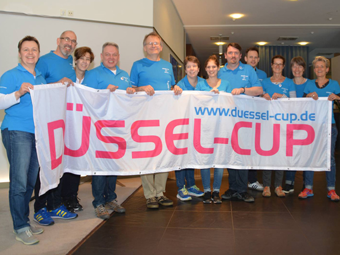 Bild: Orgateam des Düssel-Cup 2019