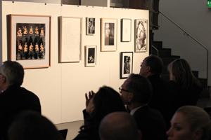 Bild: Kunstwerke bei der Auktion im Ständehaus