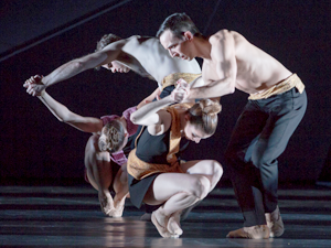 Bild: Ballett am Rhein - Martin Schläpfer: Roses of Shadow