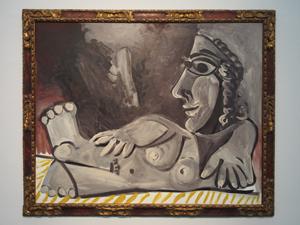 """Bild: """"Nu Couché"""" (1970) von Pablo Picasso"""