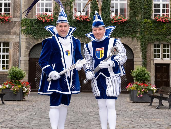 Bild: Prinzenpaar Axel I. und Niersius Thorsten