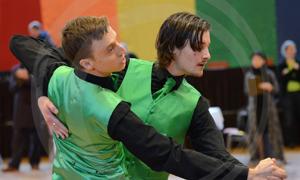 Bild: Herren-Tanzpaar beim Grand Prix Düsseldorf 2016