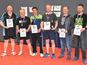 Bild: Siegerehrung beim Düssel-Cup 2017
