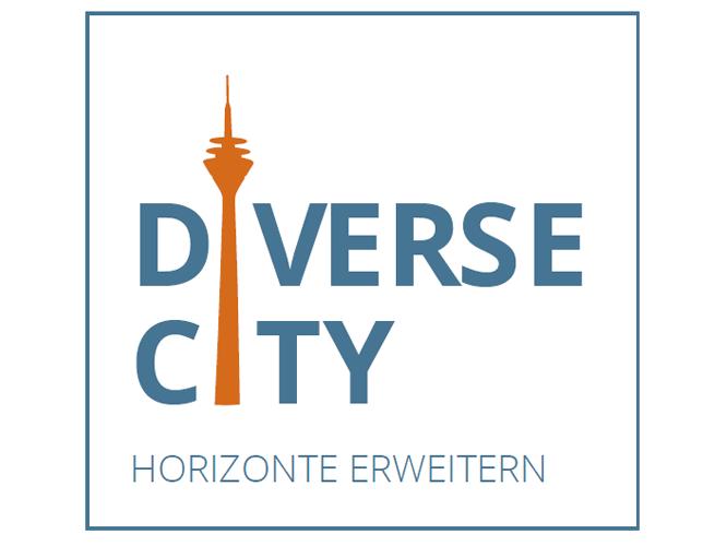 Logo: DiverseCity - Horizonte erweitern