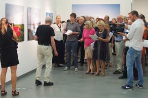 Bild: Ausstellungsrundgang