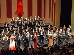 Bild: Schlussbild bei der AIDS-Gala 2017