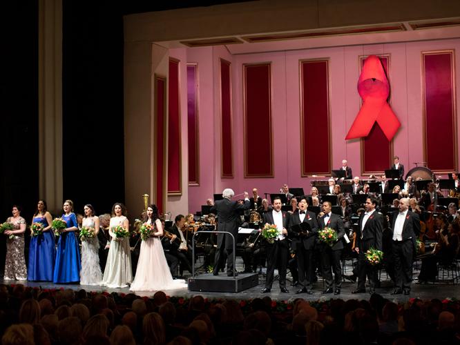 Bild: Zugabe bei der 10. Aids-Gala