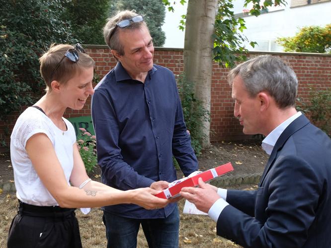 Bild: Inka Wilhelm, Bernd Plöger, Thomas Geisel