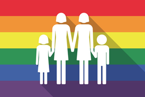 Bild: Regenbogenfamilie
