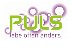 Logo: PULS – lebe offen anders