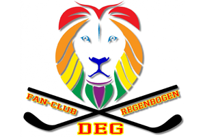 Logo: DEG Fan-Club Regenbogen