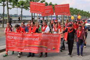 Bild: Schwusos beim CSD Düsseldorf