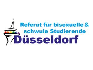 Logo: Referat für bisexuelle und schwule Studierende Düsseldorf