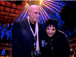 Bild: DJ Helmi mit Liza Minnelli