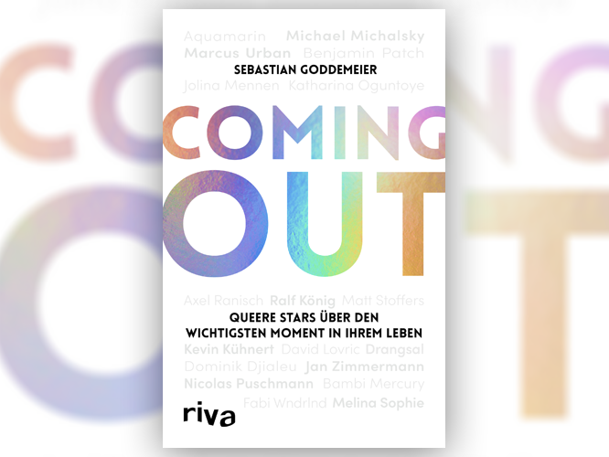 """Bild: Buchcover """"Coming out"""""""