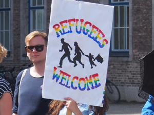 Bild: Refugees Welcome