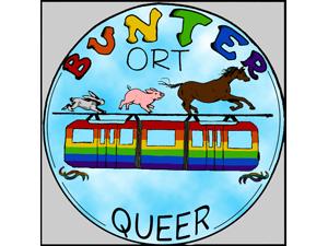 Logo: Bunter Ort Queer