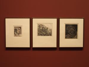 """Bild: Bilder aus dem Radierzyklus """"Der Krieg"""" von Otto Dix"""