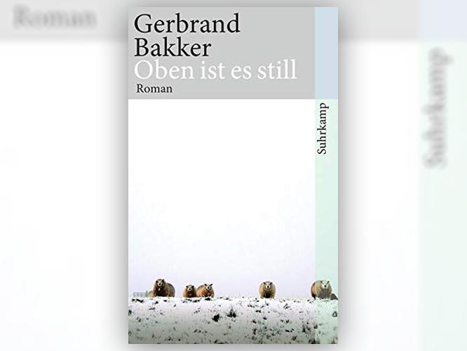 """Bild: Buchcover """"Oben ist es still"""""""