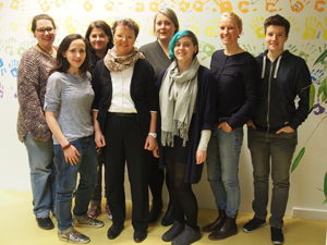 Bild: Orga-Team des Lesbian Take-over