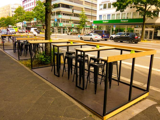 Bild: Terrasse vom K1-Club