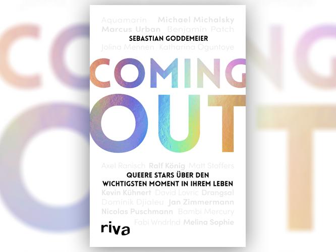 """Bild: Buchcover """"Coming-out - Queere Stars über den wichtigsten Moment in ihrem Leben"""""""