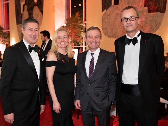 Bild: Joachim Llambi, Dr. Kristel Degener, Oberbürgermeister Thomas Geisel, Prof. Christoph Meyer