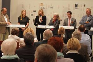 Bild: Pressekonferenz im K20