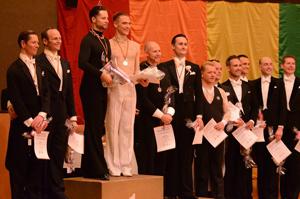 Equality Tanzmeisterschaften Siegertreppchen