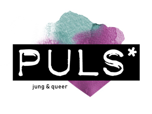 Logo: PULS - jung & queer